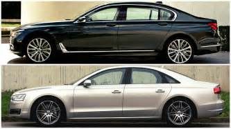 Audi A8 Vs Bmw 750 2016 Bmw 7 Series Vs Audi A8