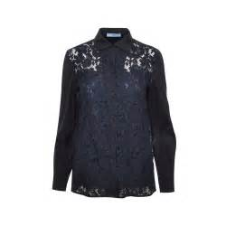 Blouse Jummbo Lq prada lace button blouse the fifth collection