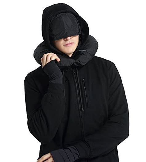 Jacket Hoodies My Trip xy37 travel jacket hoodie 10 pockets travel pillow eye mask mask gloves health