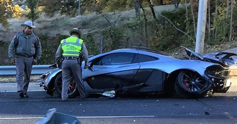 p1 crash update mclaren p1 owner crashed car less than 24 hours