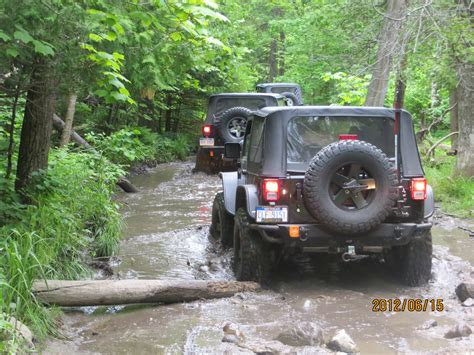 Crown Motors Jeep The Crown Motors Jeep Team At The 20th Drummond Island
