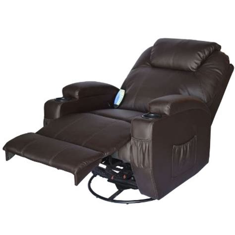 Recliner Chair Reviews Ratings by Homcom Deluxe Heated Vibrating Recliner Chair