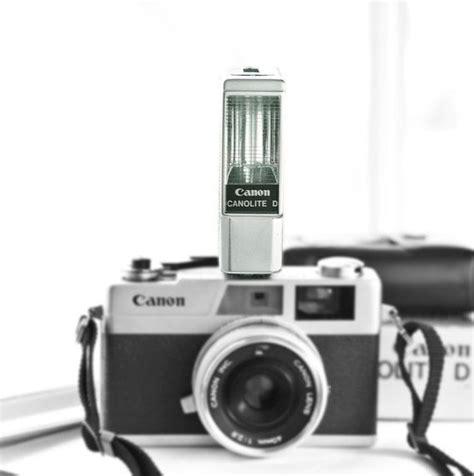 flash camara canon canon canolite d flash vintage camera flash for
