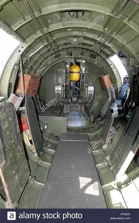 B 2 Bomber Interior by The Interior Of A B17 B 17 World War 2 Bomber Aircraft