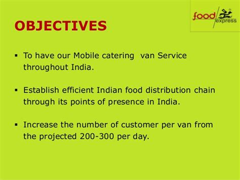 mobile catering business plan template start import export business india home daycare business
