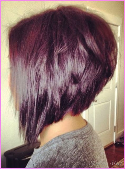 angled stacked bob haircut photos stacked angled bob haircut stylesstar com