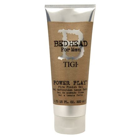 bed head gel tigi bed head for men power play firm finish gel walgreens