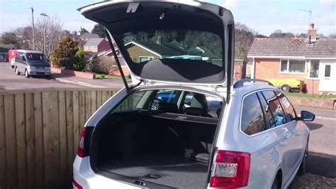 Golf Auto Boot Open by Boot Opening On Skoda Octavia Mk3 Using Fob Button Youtube