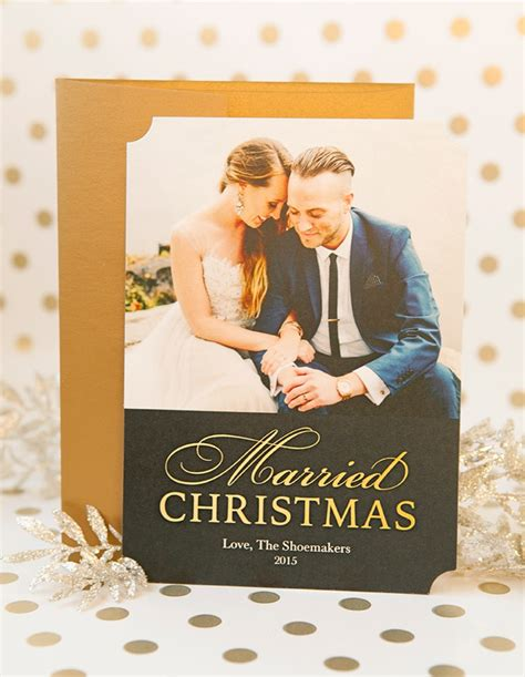 christmas for newlyweds diy your newlywed cards with shutterfly