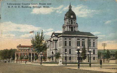Yellowstone County Court Search Yellowstone County Court House And B P O E Building