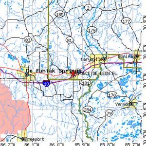 ponce de florida map ponce de florida fl population data races
