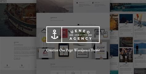 The Agency V1 4 Creative One Page Agency Theme ueneo v1 0 2 creative one page parallax theme 精博建站