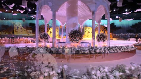 Concept Wedding Centre by Mapping Wedding In International Exhibition Centre