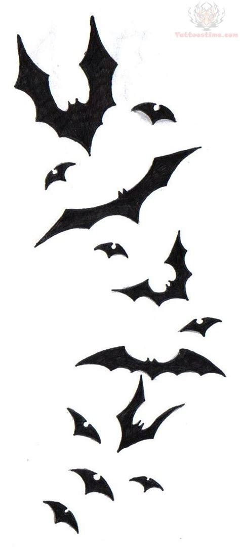 flying bat tattoo designs bat tattoos designs