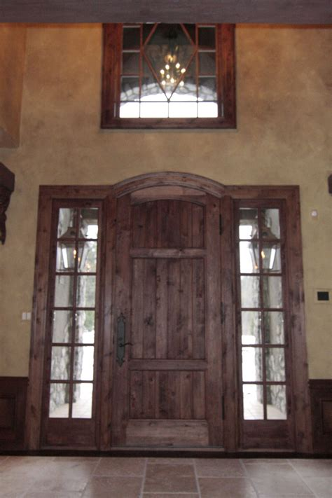 Windows Above Doors by This Shoud Be Front Door Western Cedar Entry Door System With Seeded Glass Side Lights