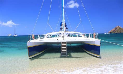st lucia catamaran boat tours carnival iii sailing catamaran tours in st lucia getmyboat