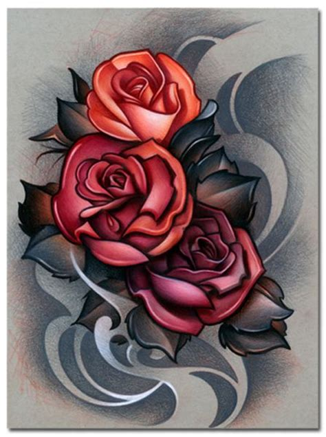 new skool rose tattoo 144 best new skool images on