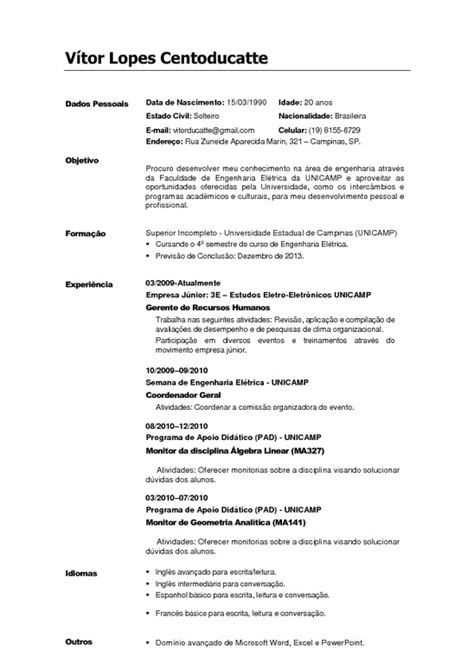 Modelo De Curriculum Vitae Europeo Junta De Castilla Y Curriculum Vitae Europass Gratis Newhairstylesformen2014