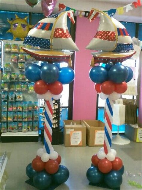 nautical themed balloons these would be amazing for a nautical themed baby shower