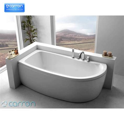 corner baths with shower carron agenda corner offset shower bath uk bathrooms