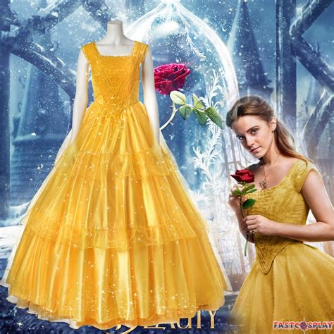 emma s belle s yellow gown from beauty and the beast a 2017 beauty and the beast belle dress emma watson yellow