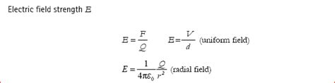 capacitor equations electric field calculate electric field strength of a capacitor 28 images capacitors faims electric