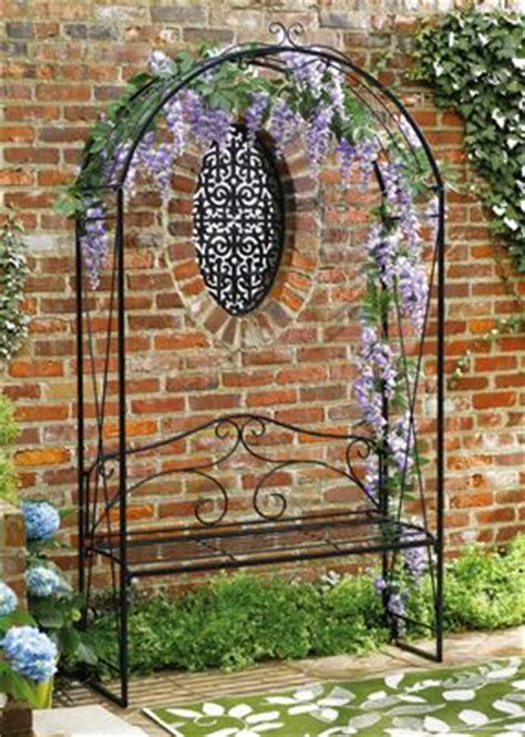garden arch with bench garden arch trellis with bench from collections etc black friday bright ideas