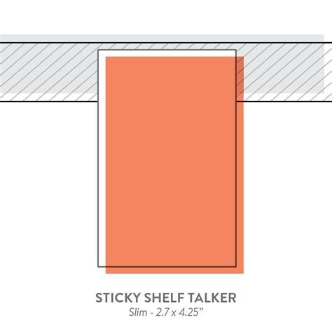 sticky shelf talkers specialty printing marketing and