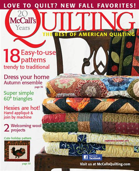 Quilt Magazine by Mccall S Quilting Magazine Subscriptions Renewals Gifts