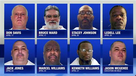 arkansas execution arkansas plans execution for at least one man monday
