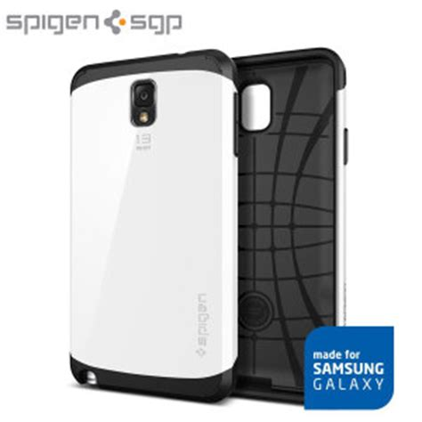 Spigen Slim Armor Samsung Galaxy Note 3 Hardcase Murah spigen slim armor for samsung galaxy note 3 infinity white reviews comments