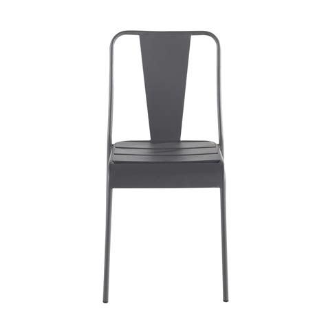 chaise de jardin aluminium chaise de jardin en m 233 tal harry s maisons du monde