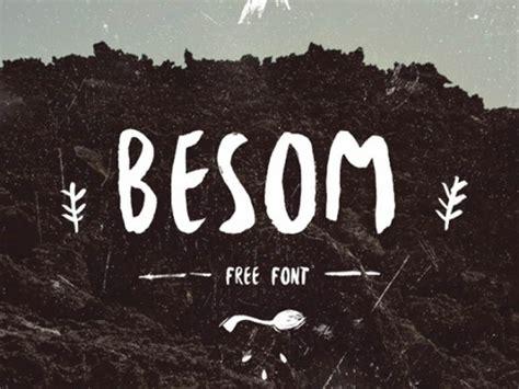 www free besom free font freebiesbug