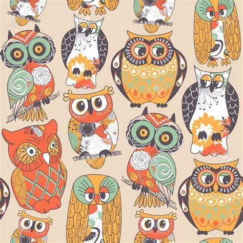 wallpaper cartoon vintage colorful cartoon owl wallpaper desktop gt yodobi