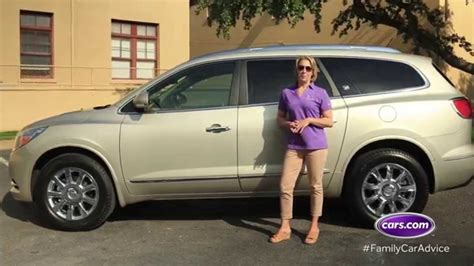 cars com best car for big families the buick enclave
