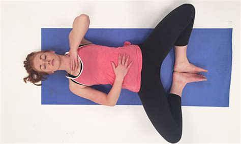 Reclined Bound Angle Pose by 6 Poses For Runners Ifit