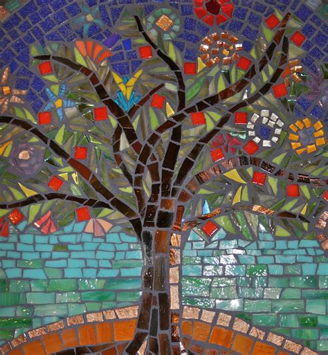Mosaic Kitchen Tiles For Backsplash tree of life lazy susan by fran kremen 2009 seattle