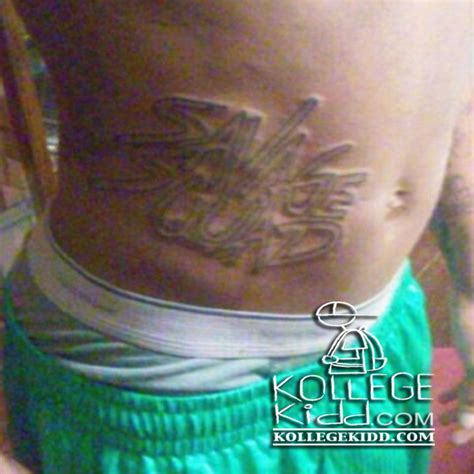 fredo santana tattoos fredo santana fan gets savage squad records tat welcome
