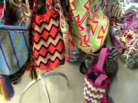 diseos mochilas wayu native indian wayuu mochila bags youtube
