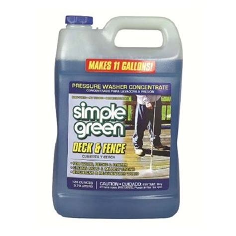 simple green house siding cleaner simple green 3 78l deck fence pressure washer cleaner lowe s canada