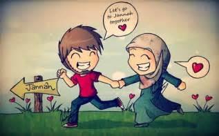 gambar kartun islam muslimah gambar kartun islami romantis gambar apps directories