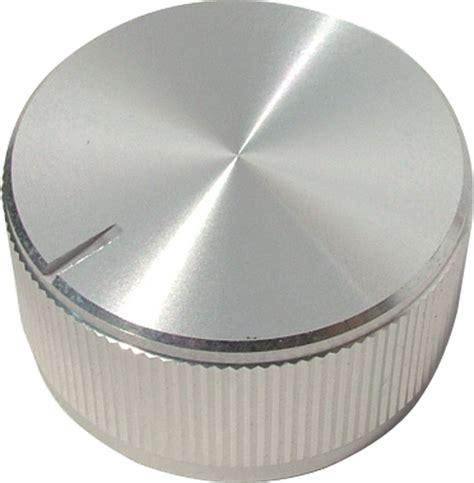 knob aluminum push on notched tip indicator 1 25