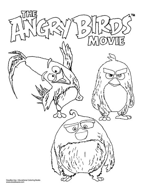angry birds movie coloring pages pinterest the world s catalog of ideas