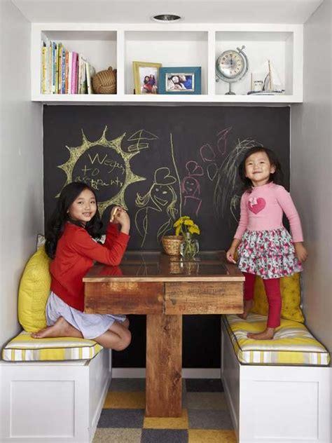 desain kamar dinding papan ide kreatif papan tulis di kamar anak desain interior