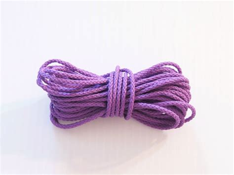 50 purple poly rope bird toy parts parrots crafts pets