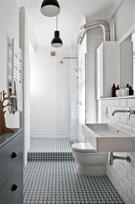 White Bathroom Tile Ideas by 35 Vintage Black And White Bathroom Tile Ideas And Pictures