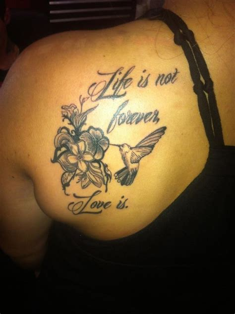 tattoos for grandparents for my grandparents is not forever is