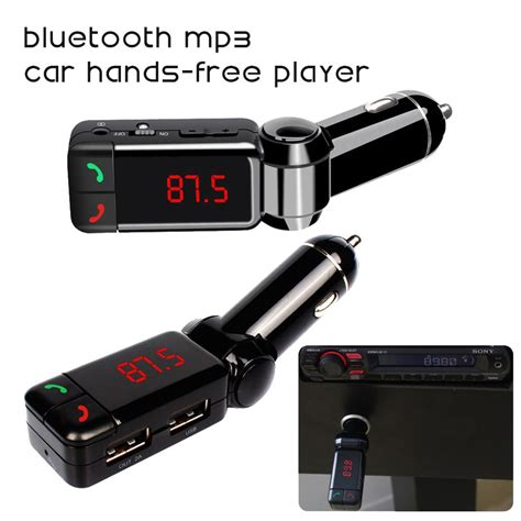 Audio Mobil Bluetooth Fm Transmitter Car Kit car mp3 audio player bluetooth fm transmitter wireless fm modulator car kit lcd