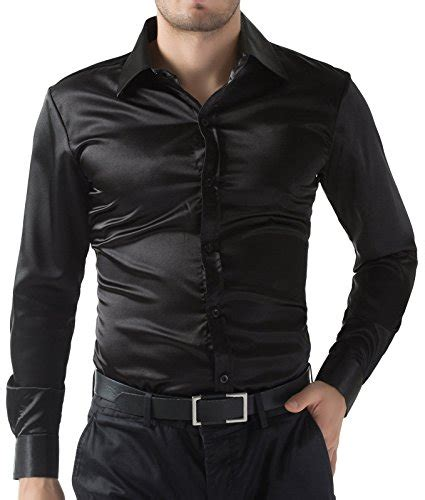 Saten Royal Silk Sale silk button shirt mens in sleeves