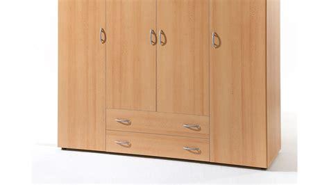kleiderschrank base 4 in buche dekor 4 t 252 rig 160 cm breit - Schlafzimmerschrank 160 Cm Breit